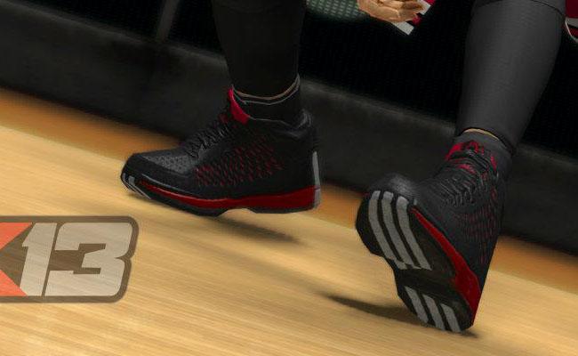 27425e3241b1 Derrick Rose wears Adizero Rose 3 in NBA  13