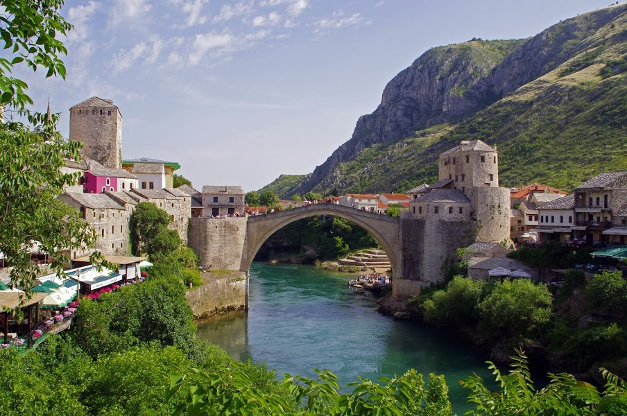 Mostar Old Town and Stari Grad