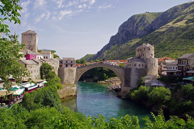 Mostar Old Town and Stari Grad