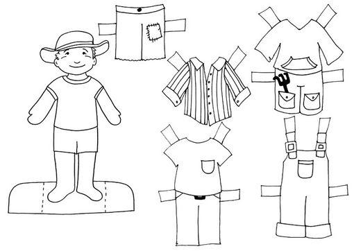 COLOREA TUS DIBUJOS: Dibujo De Prendad De Vestir Para Colorear