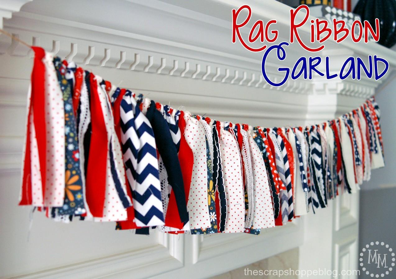 Rag Ribbon Garland