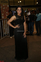 Wamiqa Gabbi in a sleeveless Black Designer Transparent Gown at 64th Jio Filmfare Awards South ~  Exclusive 101.JPG