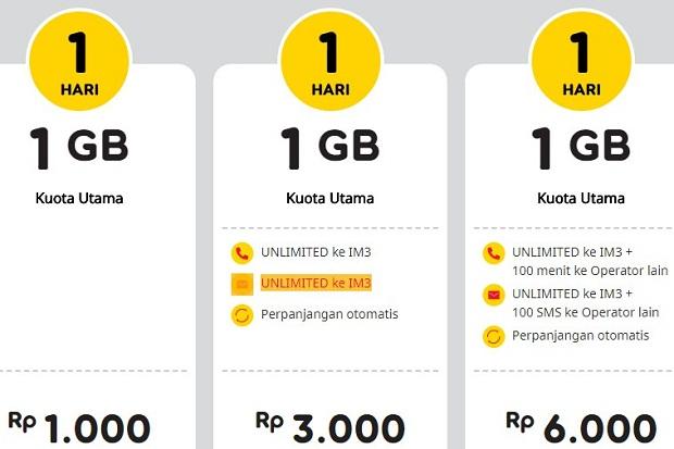 Cara Berhenti Paket Yellow Indosat : Register Terbaru 2019