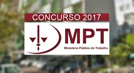 Concurso MPT 2017