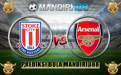 AGEN BOLA - Prediksi Stoke City vs Arsenal 13 Mei 2017