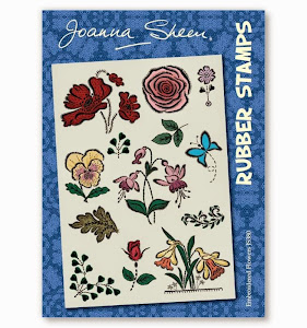 Joanna Sheens Embroidered Flowers stamps