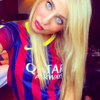 Resultado de imagem para chicas sexy barcelona fc