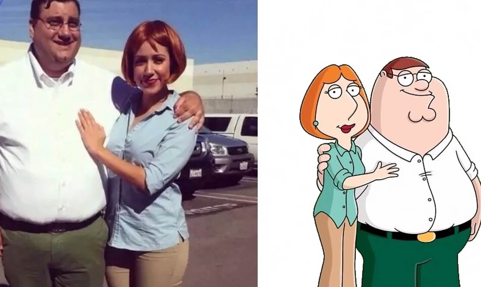 20 Amazing Cosplays That Look Extremely Similar To The Original Cartoons - When you see that couple down the street