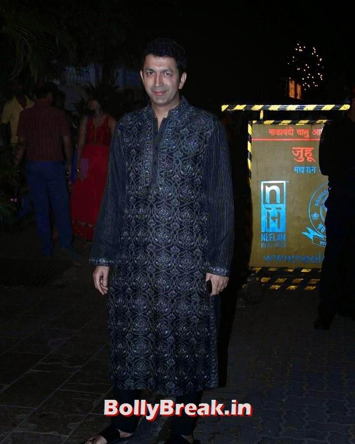 Kunal Kohli, Photos from Amitabh Bachchan's Diwali Bash 2014