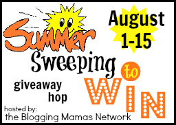 Summer Sweeping Giveaway Hop, ends 8/15