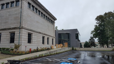 Franklin Public Library has been added to and renovated and will open in late October