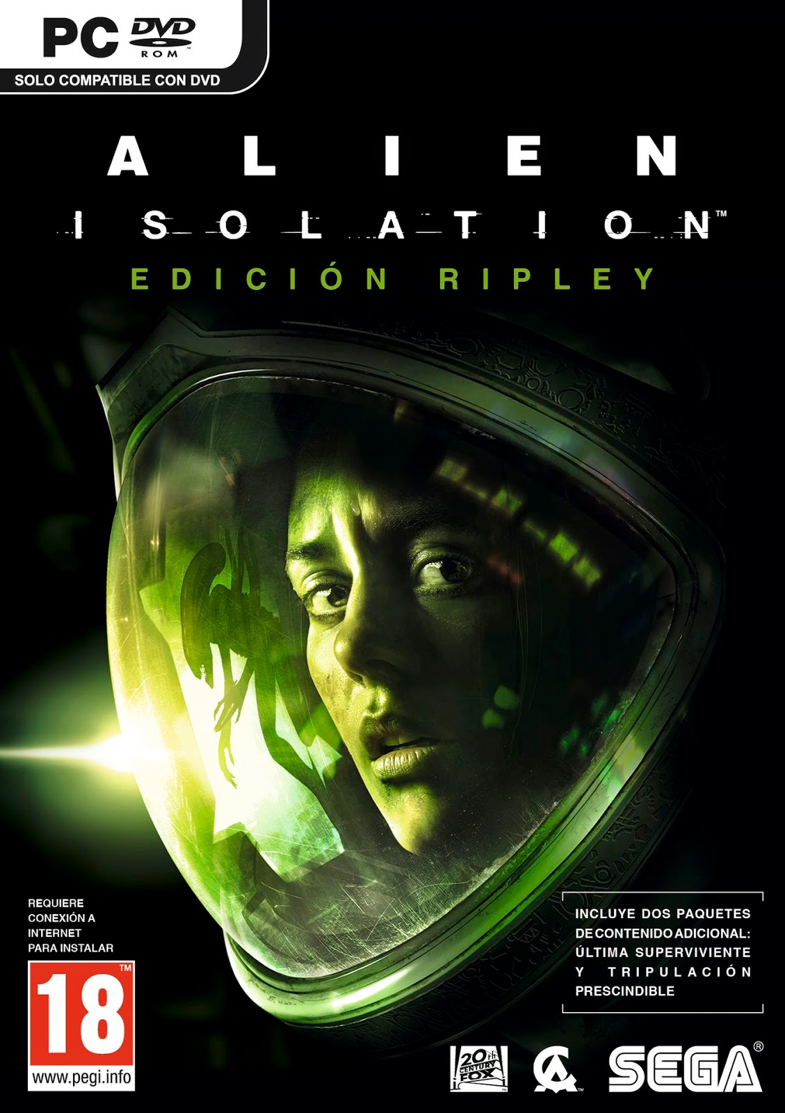 Alien Isolation Descargar PC Cover Caratula