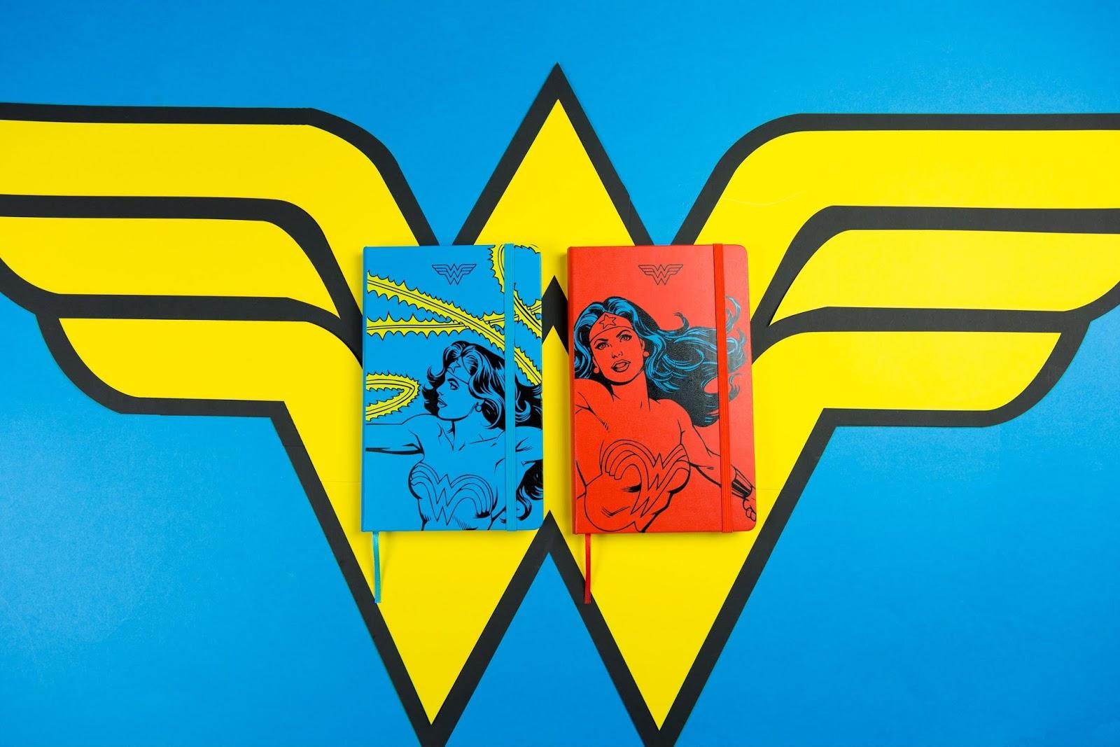 Weltfrauentag Moleskine Notizbuch Wonder Woman