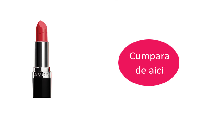 Ruj mat True Color Perfectly Matte de la Avon