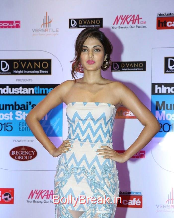 Rhea Chakraborty, Mumbai's Most Stylish Awards 2015 Full Photo Gallery