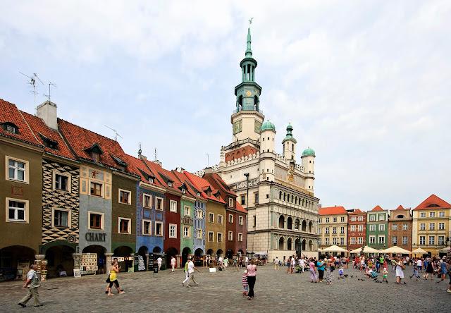 Poznan city center