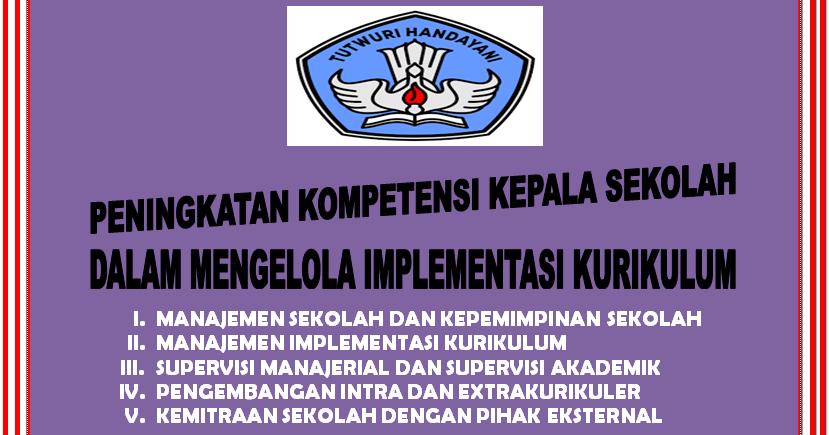 Manajemen Kepemimpinan Seorang Kepala Sekolah Edisi Tahun 2015 Sd Negeri 1 Asemrudung