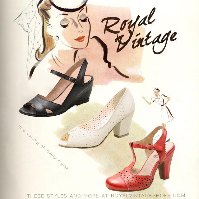 Royal Vintage Shoes 1940s Advertisement - Shop www.RoyalVintageShoes.com