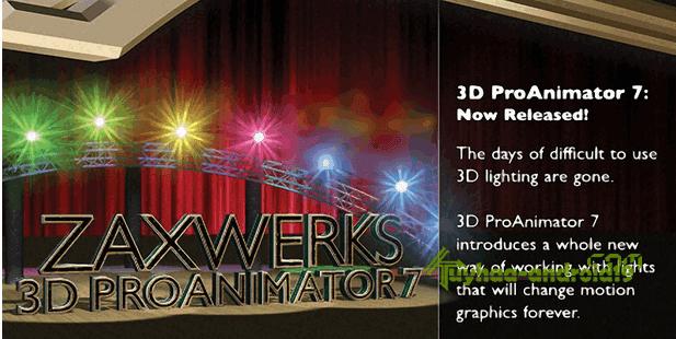 Zaxwerks ProAnimator 7.0.0 (plugin After Effects)