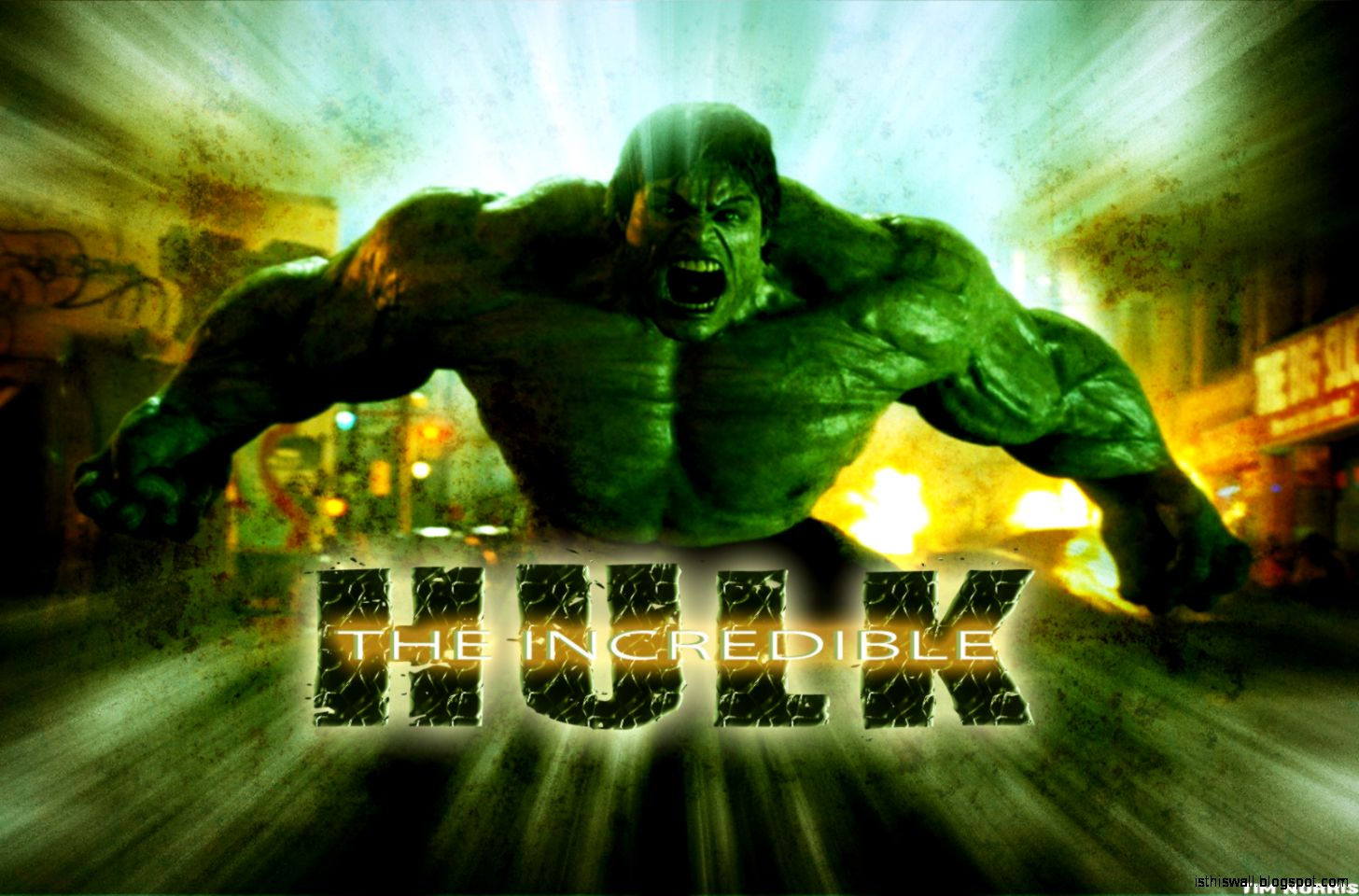 The Incredible Hulk Hd Wallpaper This Wallpapers