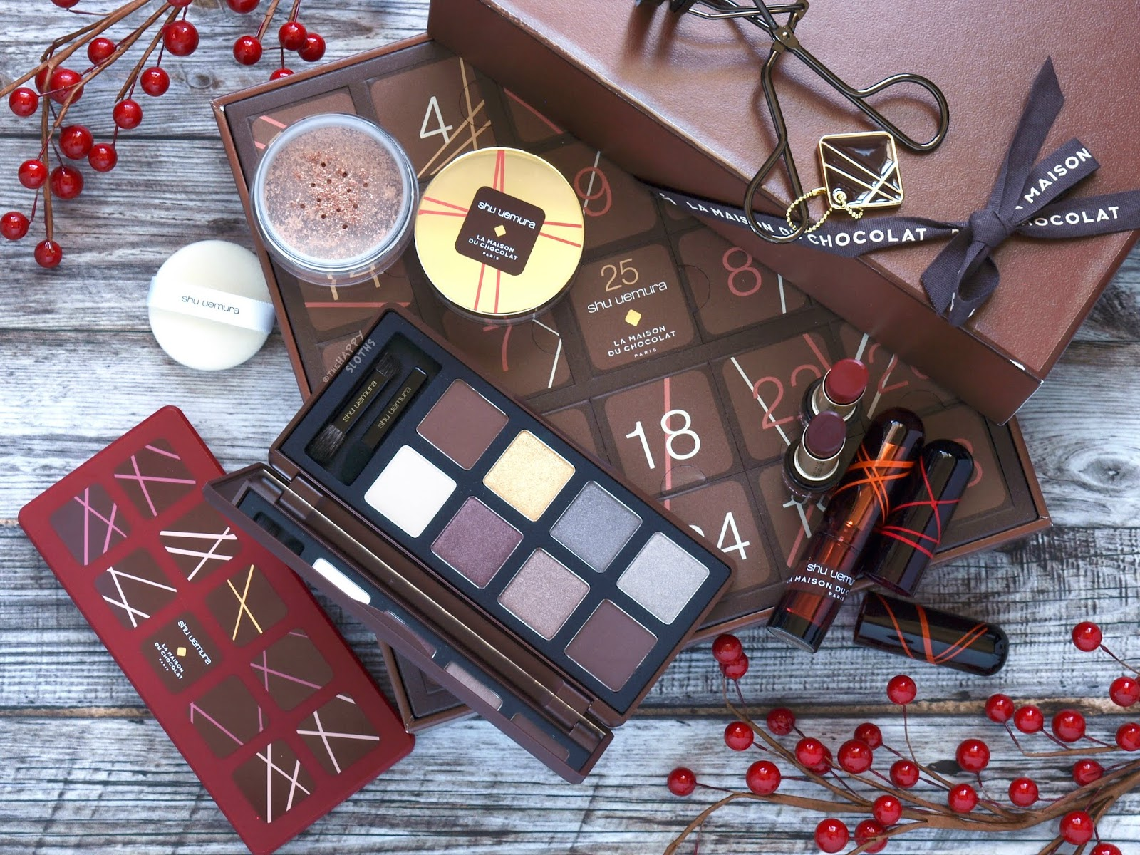 Shu Uemura | Holiday 2018 La Maison du Chocolat Collection: Review and Swatches