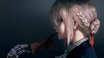 Anime, Girl, Violet Evergarden, 8K, #317