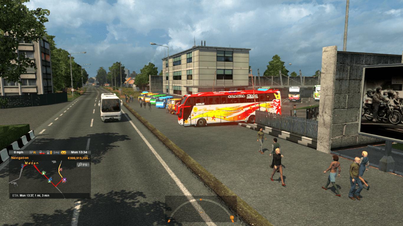Map Sumatera Izi Standalone Byridho Ets2 V 123 Mod Euro Truck Simulator 2 V130 Dan Indonesia Jetliner Read To Game Simulator2