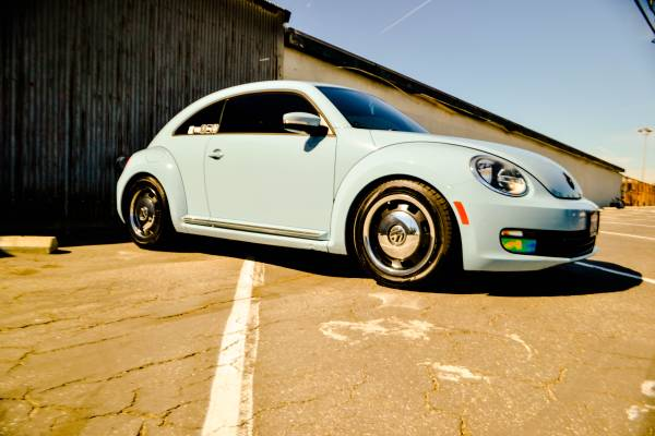 2012 Volkswagen Beetle First Model