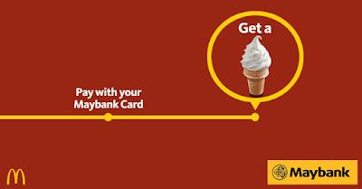 Free McDonald's Sundae Cone Maybank