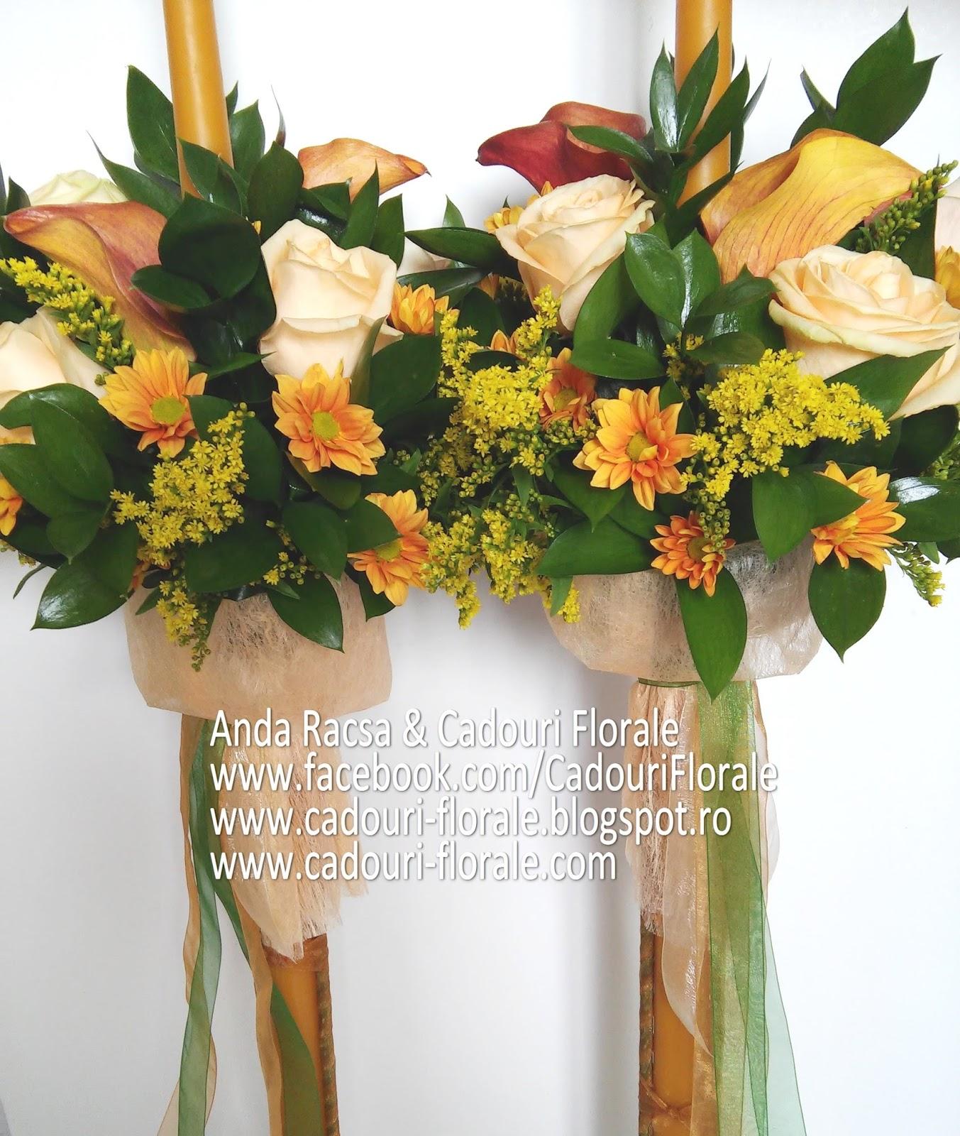 Lumanari Pentru Nunta Si Botez Aranjamente Din Flori Si Plante
