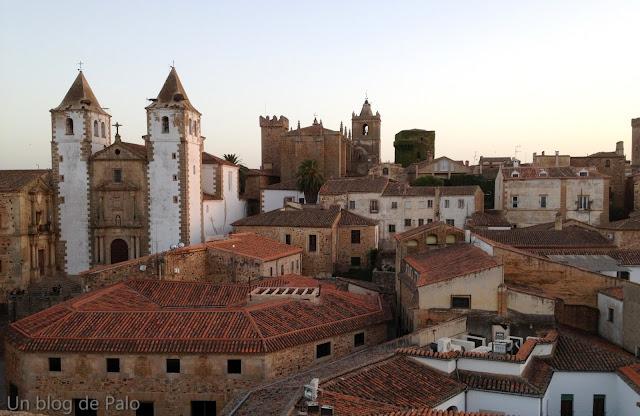 Vistas desde la Concatedral de Cáceres