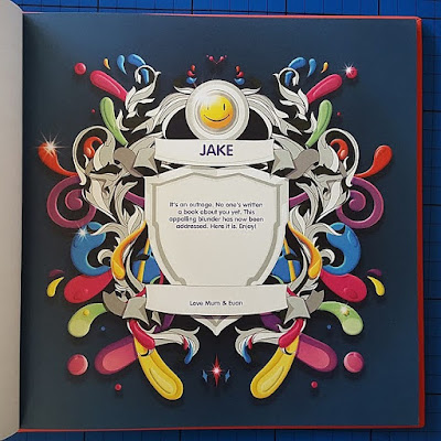 The Book Of Everyone personalised gift book inside image
