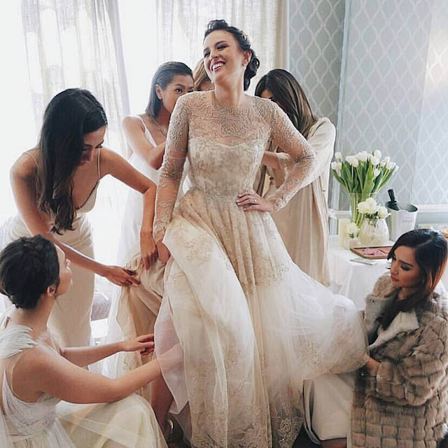 It Girl Got Married The Wedding Of Georgina Wilson Glitz
