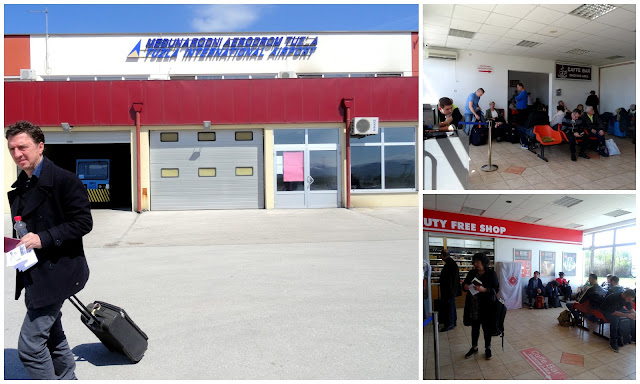 Gate, Waiting Area and Duty Free - Tuzla International Airport