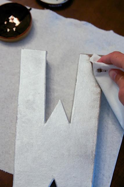 Paper Mache Letter