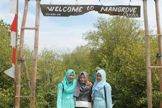 Pintu Masuk Mangrove Center Bengkak