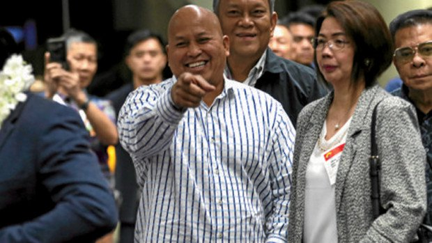 PNP Chief Ronald 'Bato' Dela Rosa On Senator Pacquiao's Gift: 'All I know is it's free so I grabbed the opportunity.'