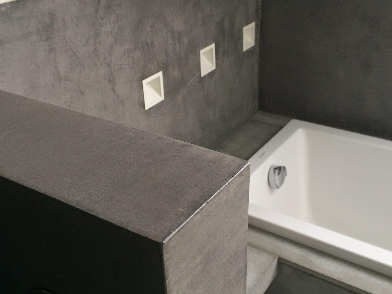 Betonfußboden Im Bad ~ Sichtbeton im badezimmer beton streichen verwunderlich badezimmer