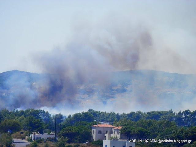 Ολονύχτια μάχη με την πυρκαγιά στα Κύθηρα - Εκκενώθηκε οικισμός (βίντεο)