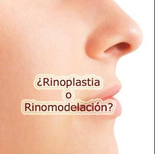 retoques esteticos de la nariz rinoplastia y rinomodelacion