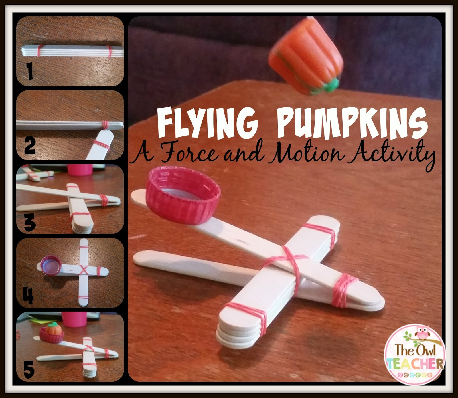 Flying Pumpkins A Force And Motion Activity