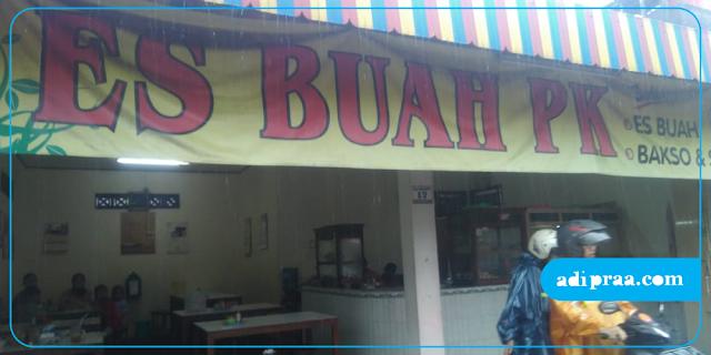 Es Buah PK Jalan Godean | adipraa.com