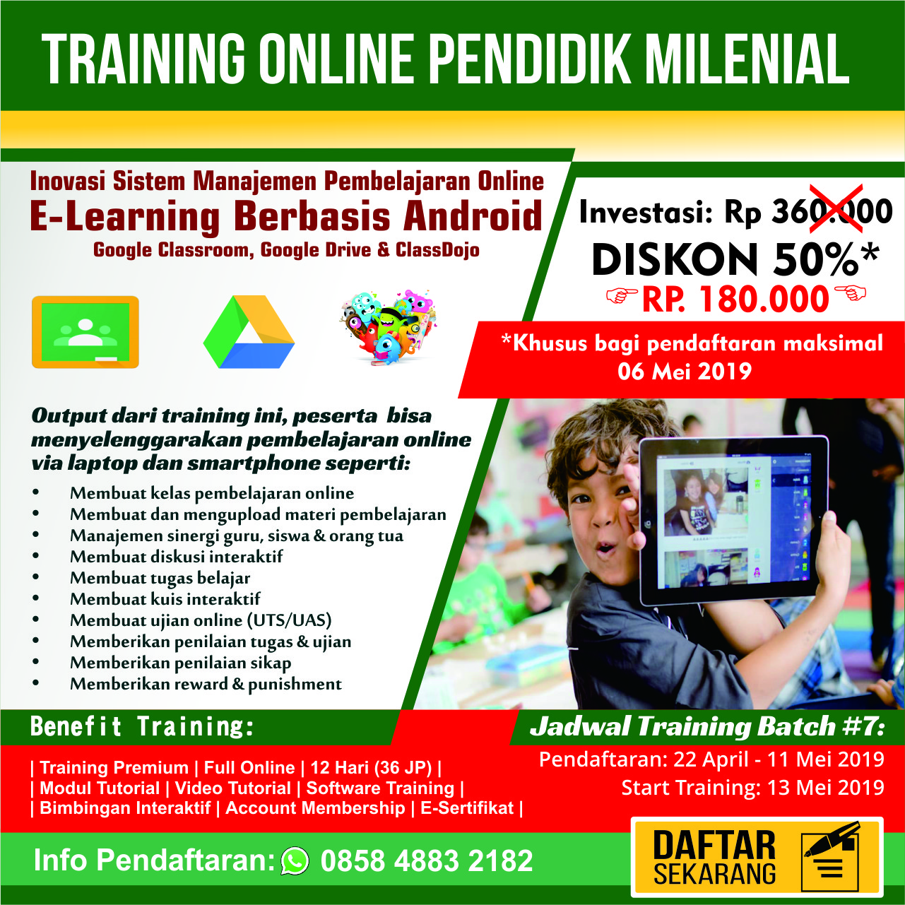 E-Learning Berbasis Smartphone
