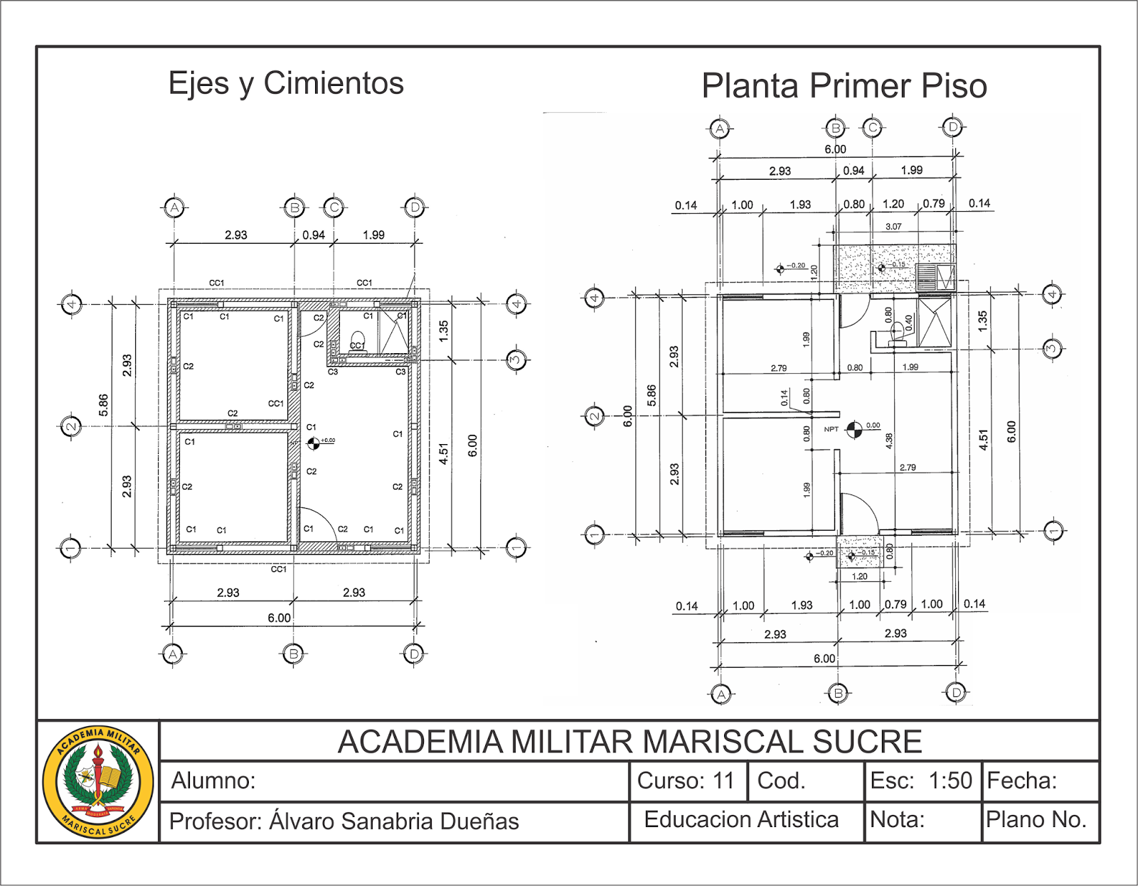 Arteamms for Elementos de un plano arquitectonico