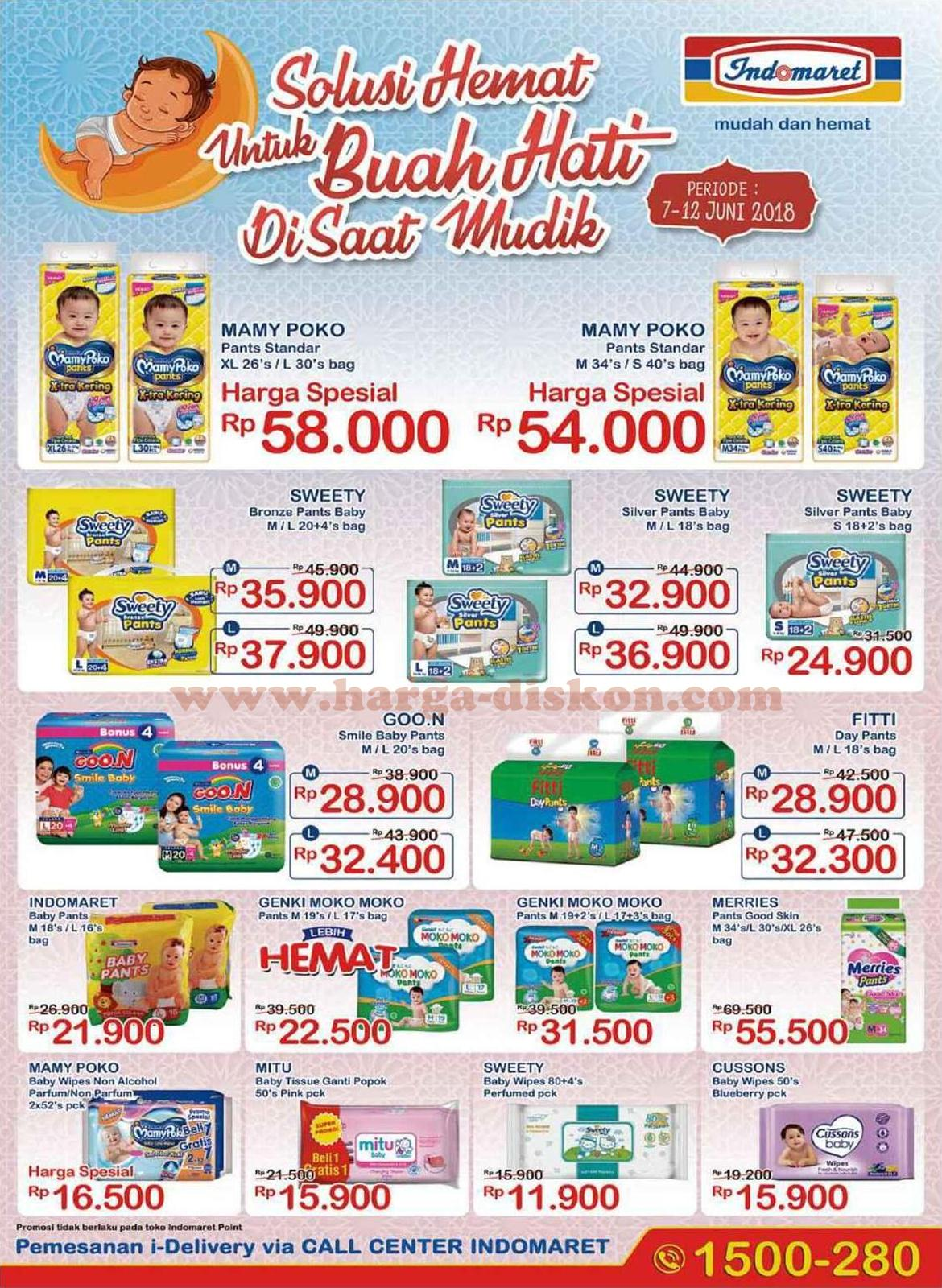 Promo Indomaret Produk Diapers Pampers Periode 7 12 Juni 2018 Vouher Popok
