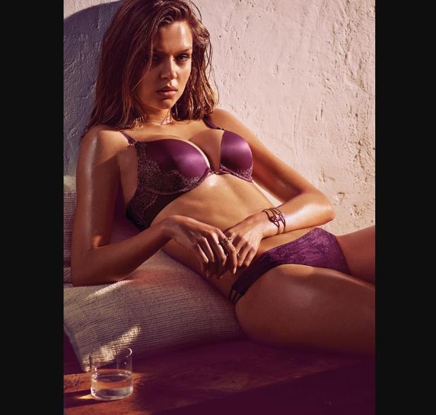 Victoria's Secret May Latest Lookbook featuring Josephine Skriver