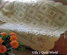 Quilt blanket - Japanese flowers