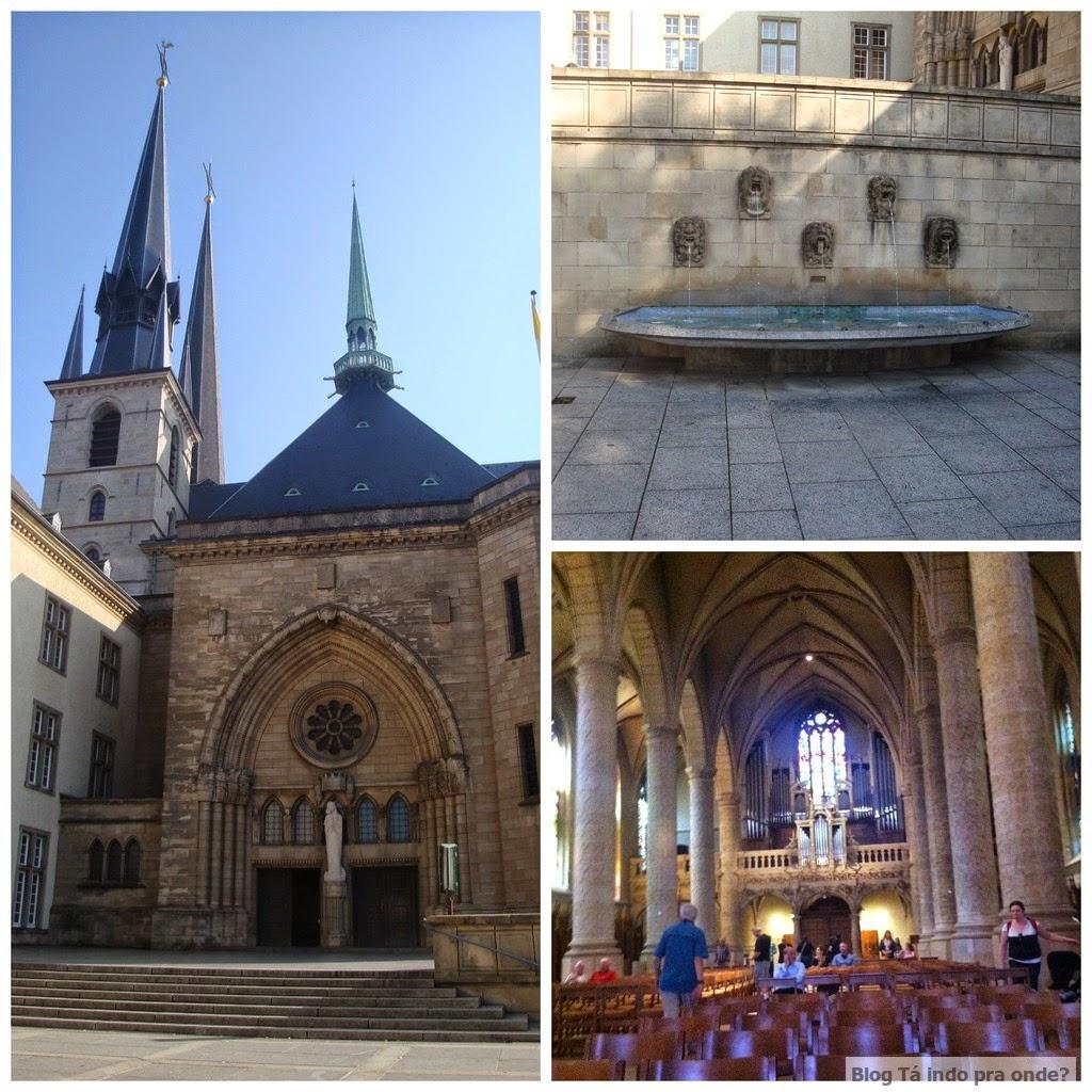 Catedral de Notre Dame em Luxemburgo
