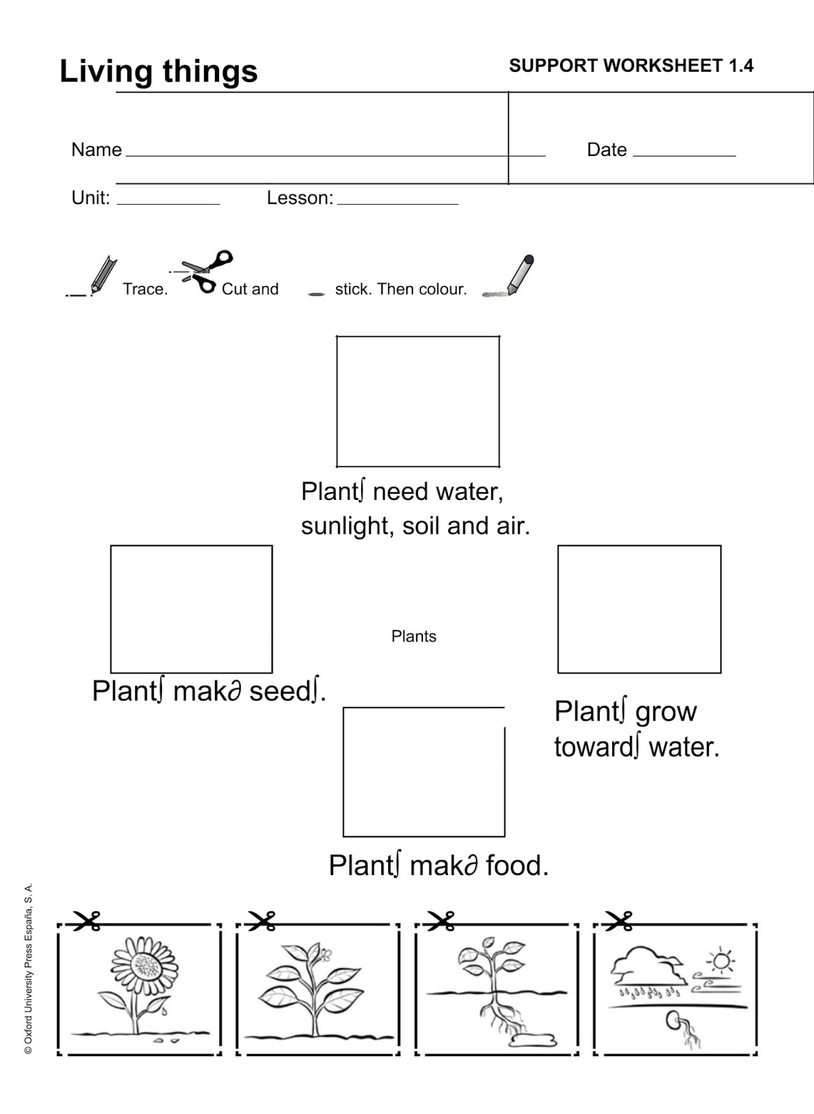 La Clase De Mabel Fichas De Repaso De Natural Science Tema 1 Living Things