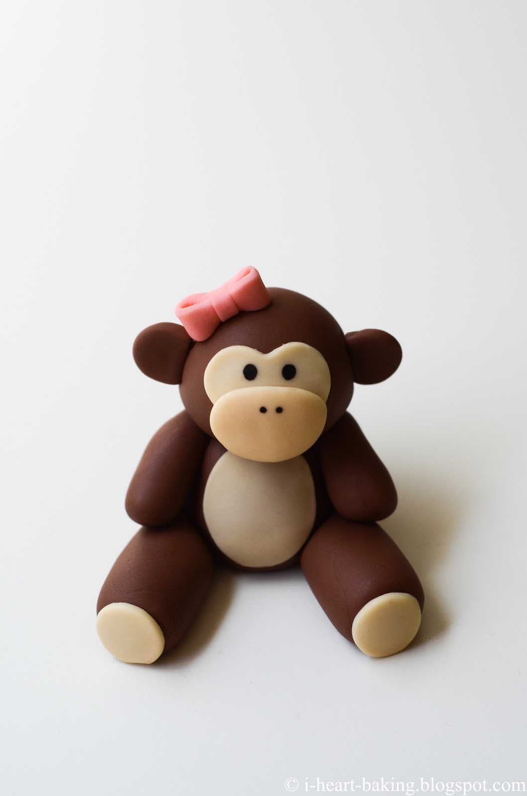 Monkey For Baby Shower Part - 49: Since The Baby Would Be Born In The Year Of The Monkey, She Wanted A Monkey  Cake, So A Few Weeks Before The Baby Shower I Started Making A Little  Fondant ...